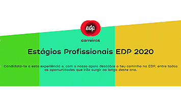 Estágios Profissionais 2020 da EDP