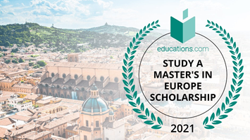 Study a Master's in Europe Scholarship 2021