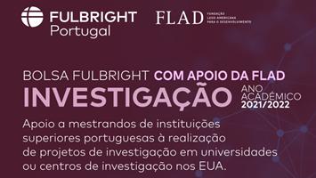 Bolsas de Investigação Fullbright